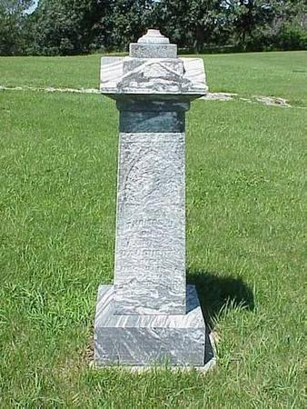 DAUGHERTY, HEADSTONE - Pottawattamie County, Iowa | HEADSTONE DAUGHERTY