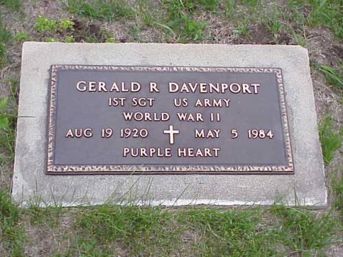 DAVENPORT, GERALD R. - Pottawattamie County, Iowa | GERALD R. DAVENPORT