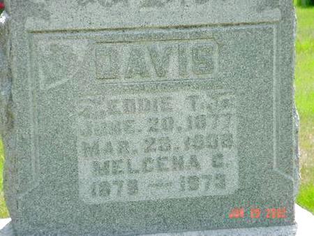DAVIS, MELCENA C. - Pottawattamie County, Iowa | MELCENA C. DAVIS