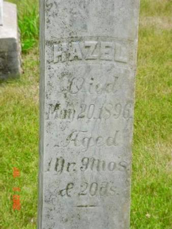 DAVIS, HAZEL - Pottawattamie County, Iowa | HAZEL DAVIS
