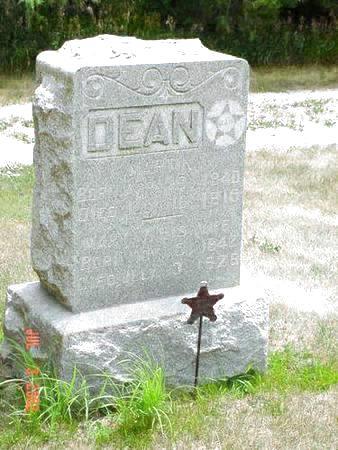 DEAN, MARY V. - Pottawattamie County, Iowa | MARY V. DEAN