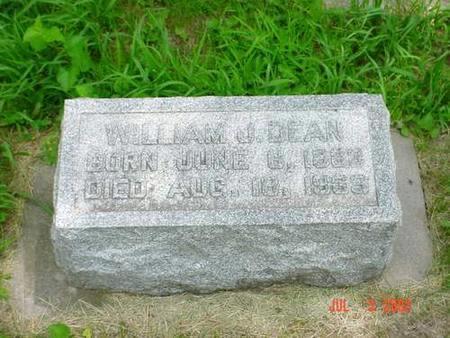 DEAN, WILLIAM J. - Pottawattamie County, Iowa   WILLIAM J. DEAN