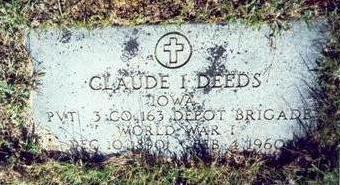 DEEDS, CLAUDE IRA - Pottawattamie County, Iowa | CLAUDE IRA DEEDS