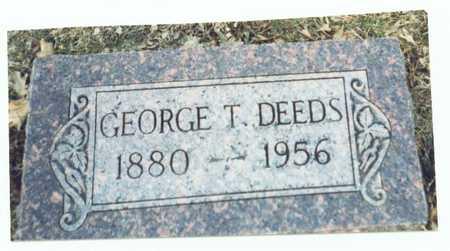 DEEDS, GEORGE T. - Pottawattamie County, Iowa | GEORGE T. DEEDS