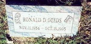 DEEDS, RONALD D. - Pottawattamie County, Iowa | RONALD D. DEEDS