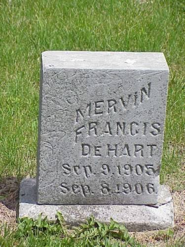 DEHART, MERVIN FRANCIS - Pottawattamie County, Iowa | MERVIN FRANCIS DEHART