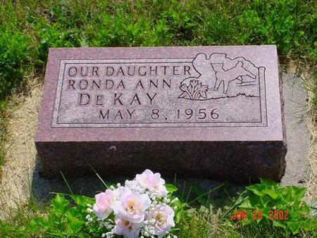 DEKAY, RONDA ANN - Pottawattamie County, Iowa | RONDA ANN DEKAY