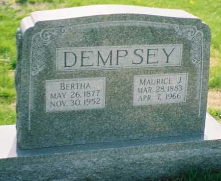 DEMPSEY, BERTHA - Pottawattamie County, Iowa | BERTHA DEMPSEY