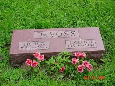 DEVOSS, EDITH C. & JOSEPH W. - Pottawattamie County, Iowa | EDITH C. & JOSEPH W. DEVOSS