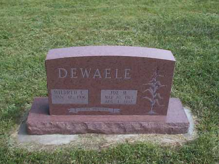 DEWAELE, MILDRED C. - Pottawattamie County, Iowa | MILDRED C. DEWAELE