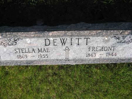 DEWITT, FREMONT - Pottawattamie County, Iowa   FREMONT DEWITT