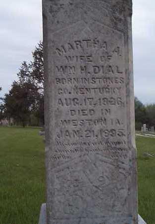 DIAL, MARTHA A. - Pottawattamie County, Iowa | MARTHA A. DIAL