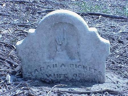DICKETTS, SARAH A. - Pottawattamie County, Iowa | SARAH A. DICKETTS