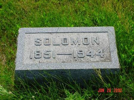 DILLARD, SOLOMON - Pottawattamie County, Iowa | SOLOMON DILLARD