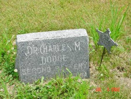 DODGE, DR. CHARLES M. - Pottawattamie County, Iowa | DR. CHARLES M. DODGE