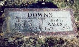 DOWNS, AARON J. - Pottawattamie County, Iowa   AARON J. DOWNS
