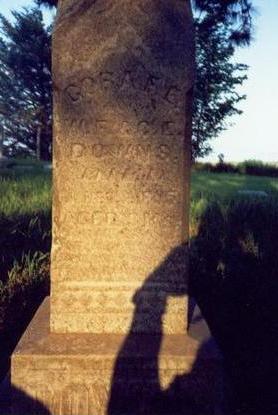 DOWNS, CORA F.E. - Pottawattamie County, Iowa | CORA F.E. DOWNS