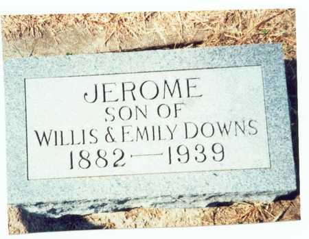 DOWNS, JEROME - Pottawattamie County, Iowa | JEROME DOWNS