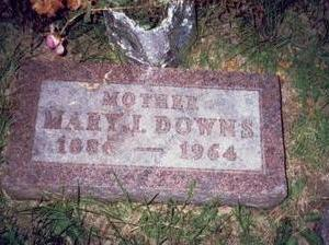 PARDEE DOWNS, MARY ISABELLE - Pottawattamie County, Iowa | MARY ISABELLE PARDEE DOWNS