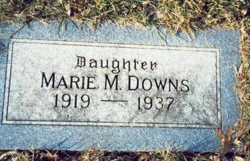DOWNS, MARIE M. - Pottawattamie County, Iowa | MARIE M. DOWNS