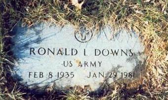DOWNS, RONALD L. - Pottawattamie County, Iowa | RONALD L. DOWNS