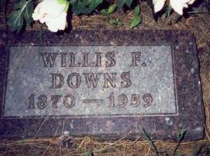 DOWNS, WILLIS F. - Pottawattamie County, Iowa | WILLIS F. DOWNS