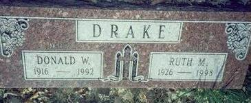 DRAKE, RUTH M. - Pottawattamie County, Iowa | RUTH M. DRAKE
