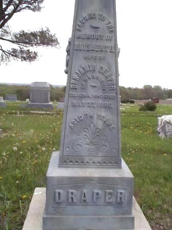 DRAPER, ELIZABETH - Pottawattamie County, Iowa | ELIZABETH DRAPER