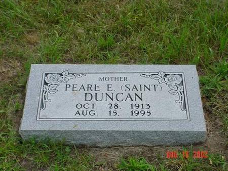 DUNCAN, PEARL E. SAINT - Pottawattamie County, Iowa | PEARL E. SAINT DUNCAN