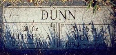 DUNN, MILDRED A. - Pottawattamie County, Iowa | MILDRED A. DUNN