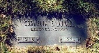 KELLEY DUVALL, CORNELIA ESTHER