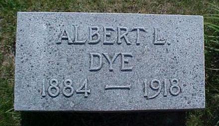 DYE, ALBERT L. - Pottawattamie County, Iowa   ALBERT L. DYE