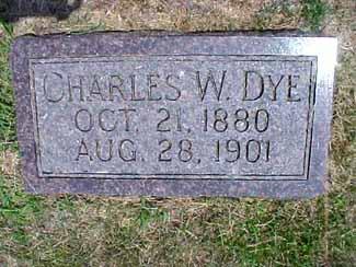 DYE, CHARLES W. - Pottawattamie County, Iowa | CHARLES W. DYE
