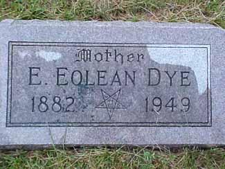 BEEZLEY DYE, E. EOLEAN - Pottawattamie County, Iowa | E. EOLEAN BEEZLEY DYE