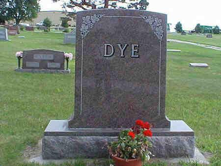 DYE, FAMILY STONE - Pottawattamie County, Iowa | FAMILY STONE DYE