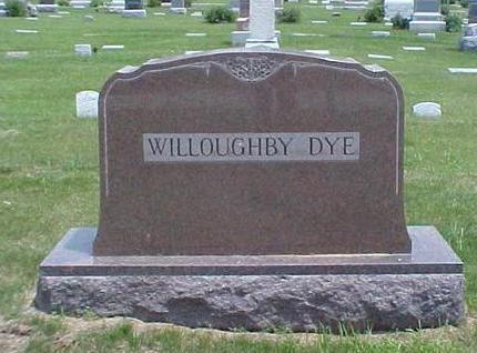 DYE, FAMILY STONE - Pottawattamie County, Iowa   FAMILY STONE DYE