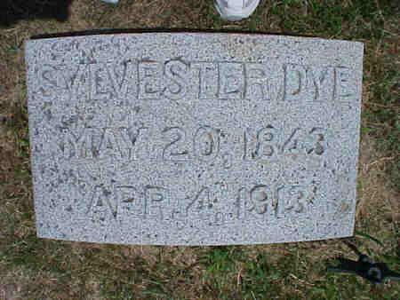 DYE, SYLVESTER - Pottawattamie County, Iowa | SYLVESTER DYE
