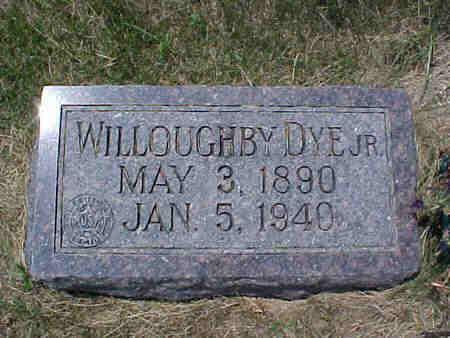 DYE, WILLOUGHBY JR. - Pottawattamie County, Iowa | WILLOUGHBY JR. DYE