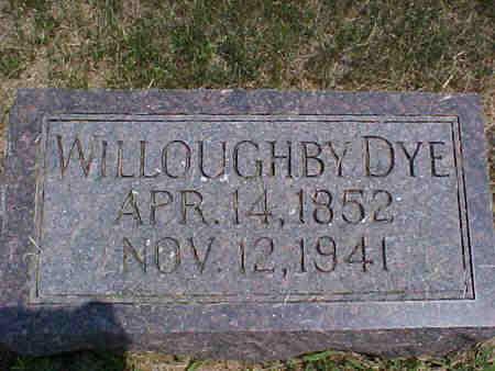 DYE, WILLOUGHBY SR. - Pottawattamie County, Iowa | WILLOUGHBY SR. DYE