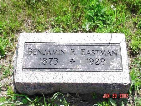 EASTMAN, BENJAMIN F. - Pottawattamie County, Iowa   BENJAMIN F. EASTMAN