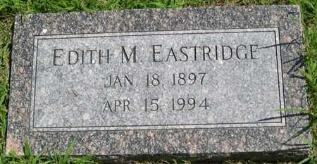 EASTRIDGE, EDITH M. - Pottawattamie County, Iowa | EDITH M. EASTRIDGE