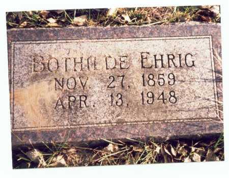 EHRIG, BOTHILDE - Pottawattamie County, Iowa | BOTHILDE EHRIG