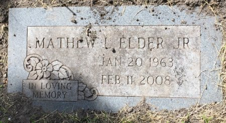 ELDER, MATHEW LEROY JR - Pottawattamie County, Iowa | MATHEW LEROY JR ELDER