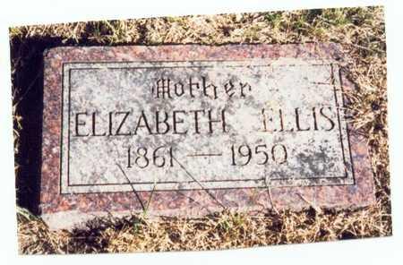 ELLIS, ELIZABETH - Pottawattamie County, Iowa   ELIZABETH ELLIS