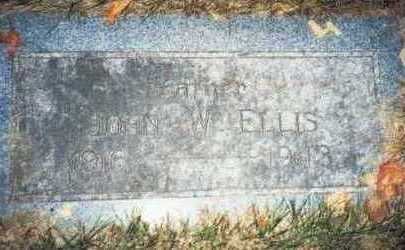 ELLIS, JOHN W. - Pottawattamie County, Iowa | JOHN W. ELLIS