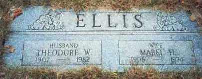 ELLIS, THEODORE W. - Pottawattamie County, Iowa | THEODORE W. ELLIS