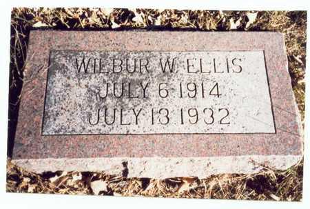 ELLIS, WILBUR W. - Pottawattamie County, Iowa | WILBUR W. ELLIS