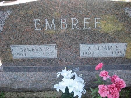 EMBREE, GENEVA P. - Pottawattamie County, Iowa   GENEVA P. EMBREE