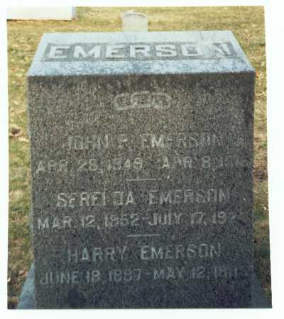 EMERSON, HARRY - Pottawattamie County, Iowa | HARRY EMERSON