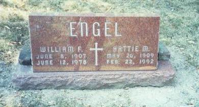 ENGEL, WILLIAM F - Pottawattamie County, Iowa | WILLIAM F ENGEL